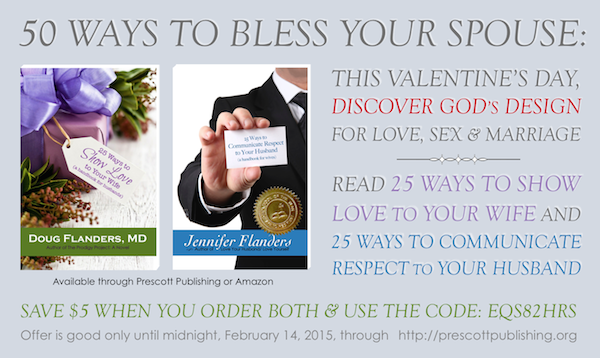 Special offer for Valentine's Day: Discover God's Design for Love, Sex & Marriage