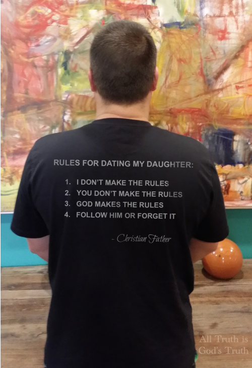 Christian rules for dating my daughter
